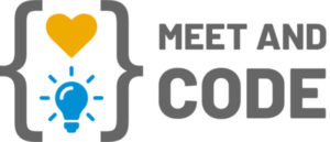 Meet and Code logo