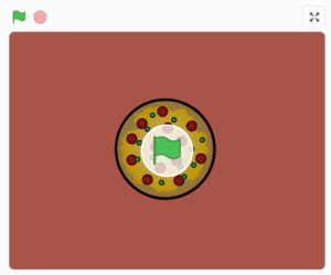 pizza slice - przykład ze scratcha